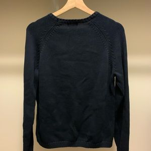 L.L. Bean Sweaters - LL BEAN Women's L-Reg Navy Blue Crewneck sweater